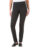 Hilary Radley Ladies' Ponte Pant - Sits At The Waist, Charcoal, Size S - $14.84