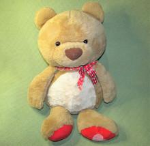 "29"" Animal Adventure Teddy Bear Plush Jumbo Stuffed Toy Heart Ribbon & Foot - $34.65"