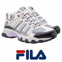 Fila Day Hiker Women's Running/Hiking Shoes Cream Gray Mint Pick Your Size. - $25.99