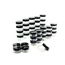 5 Gram Cosmetic Containers 50pcs Sample Jars Tiny Makeup Sample Containe... - $10.94