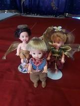 """Barbie Miniature Dolls Mattel Circa 1994 4.5"""" Tall - $51.48"""