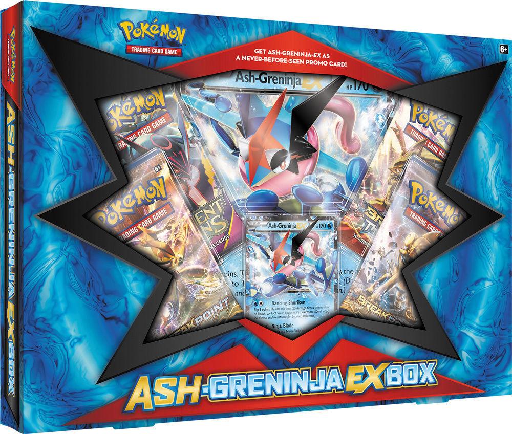 Mega Beedrill EX Premium Box + Ash-Greninja EX Box POKEMON Trading Cards + BONUS