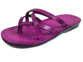 Leather Sandals for Women CRISS CROSS by SANDALIM Biblical Greek Roman S... - $40.36 CAD+