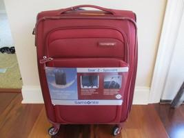 "BNWT Samsonite® Soar 2.0 21"" Spinner Carry-On Luggage, Burgundy, $320 - $183.15"
