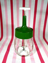 Groovy Vintage 1960's Federal Housewares Glass Avocado Hand Chopper  - $12.00