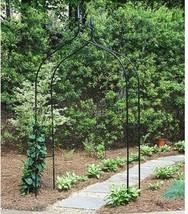 Garden Outdoor Metal Trellis Arch Arbor Patio Yard Wedding Entrance Deco... - $57.52