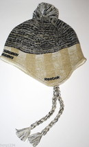 Pittsburgh Penguins Reebok Nhl Face Off Tassel&Pom Pom Winter Knit Hockey Cap - $17.09
