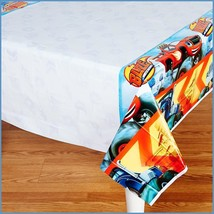 Blaze Trucks Plastic Table Cover by Amscan Birthday Party Supplies - $6.44