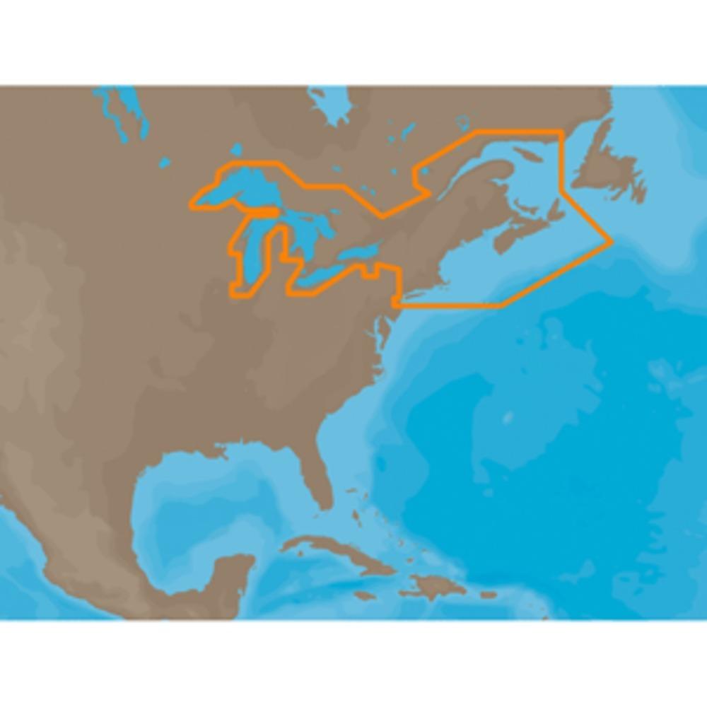 C-MAP MAX NA-M026 - Great Lakes & The Maritimes - SD™ Card