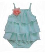 Starting Out Newborn (0-3 Mos.) Baby Girls Ruffle One-Piece Bodysuit - $7.99