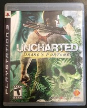 Uncharted: Drake's Fortune (Sony PlayStation 3, 2007) - $4.94
