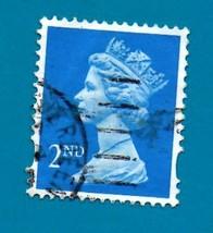 1989 Used Great Britain Stamp - 2ND - Queen Elizabeth II - Scott #MH117 - $1.99