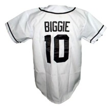Biggie Smalls Bad Boy Baseball Jersey Button Down White Any Size image 2