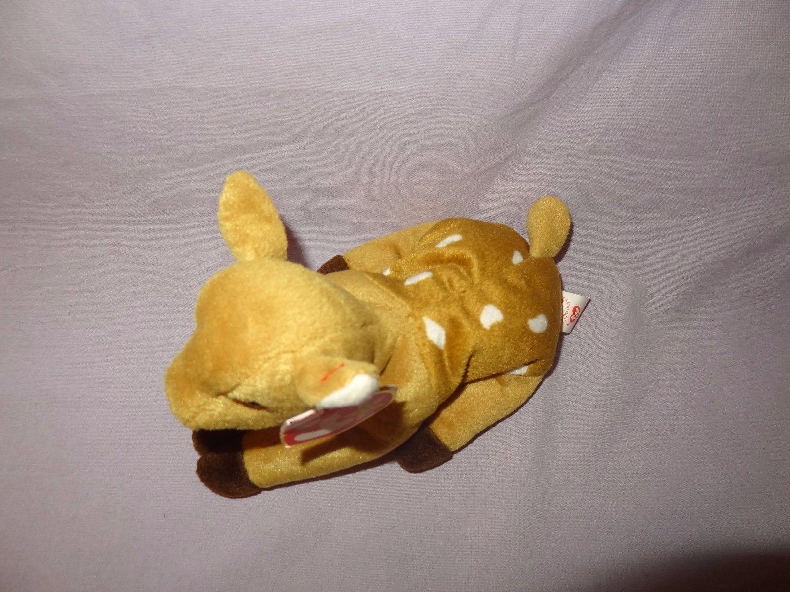 5157902cc0a Whisper Deer Fawn Ty Beanie Baby Plush Stuffed Animal Toy 1997 Tush tag  1998 4