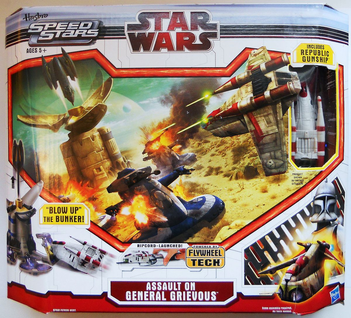 Primary image for Star Wars MicroMachines Assault On General Grievous Playset 2010