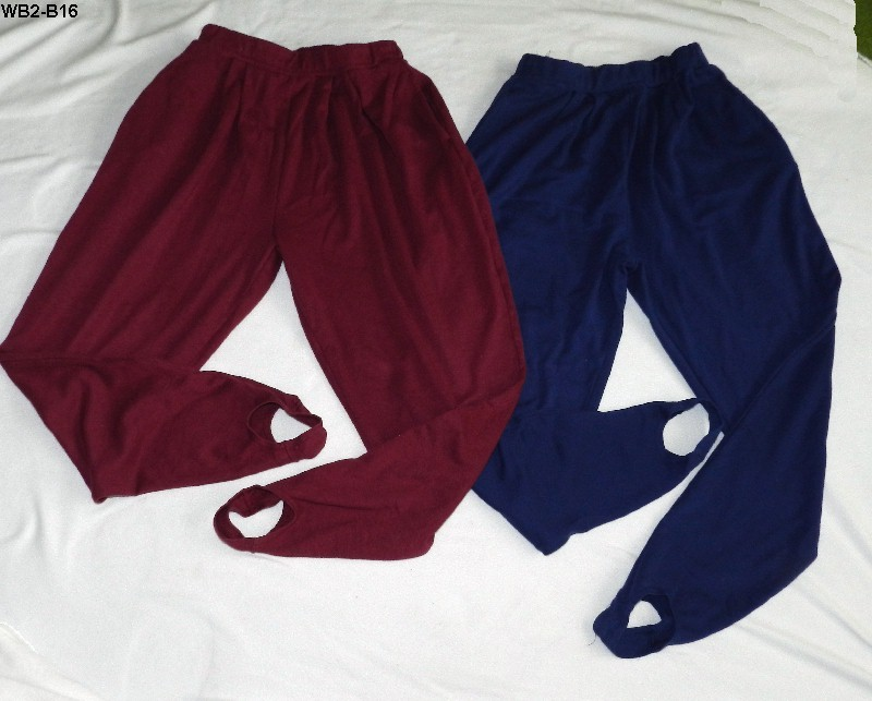 Willow Bay SZ 1X Burgundy and Navy Blue Stirrup Pants  2 pair
