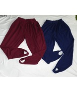 Willow Bay SZ 1X Burgundy and Navy Blue Stirrup Pants  2 pair - $19.99