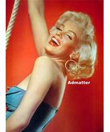 Marilyn Monroe Old 2-Sided Pin-up Poster Print  - $9.28