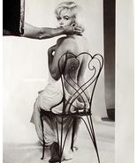 Marilyn Monroe 2-Sided Pin-up Poster Topless Nude on Movie Set + Dressed... - $11.39