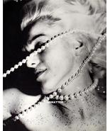 Marilyn Monroe 2-Sided Pinup Poster Bead Bondage HOT!!! check1234 - $11.99
