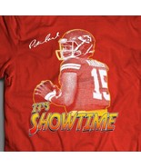 "KANSAS CITY'S PATRICK MAHOMES ""IT'S SHOWTIME"" CUSTOM ART**Mens T-Shirt * - $19.79+"