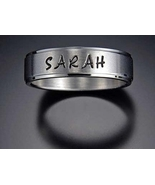 Name Rings Stainless Steel Jewelry For Men, Wom... - $24.99