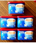 5 Maxwell House International Cafe Instant Coffee Beverage French Vanill... - $29.67