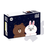 LINE Friends Jigsaw Puzzle Night Sky 500 pcs Character BROWN CONY Bromid... - $30.83