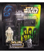 1996 Star Wars Deluxe Snowtrooper Figure New In The Package - $17.99