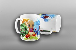 Pokemon Mug , Pokemon Coffee Mug, Pokemon Go Mug, Pokemon Charmander Squirtle - $12.20+