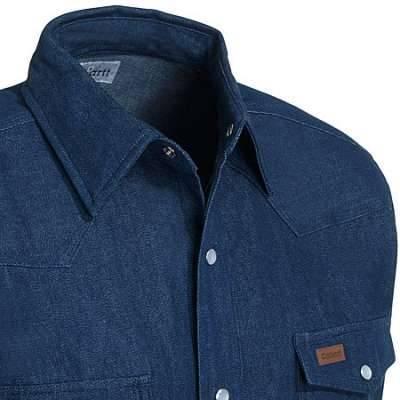 size 4xl regular carhartt shirt denim snap front s141 dmb work shirt 4xl regular