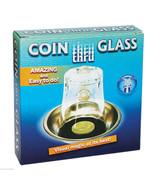 Coin Through Glass Magic Trick - Nice Closeup Magic - $8.95