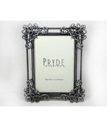 Elegant Ornate Designed Pewter Picture Frame 4x6 - $11.99