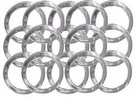 "144 Napkin Rings plastic acrylic 1.75"" diameter- Clear - $26.72"