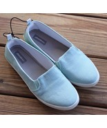 Eddie Bauer Size 7 Women's Canvas Might Style Foam Slip-On Casual Shoes ... - $23.74