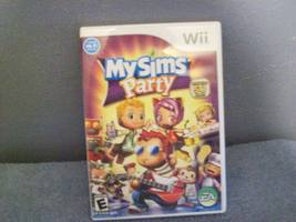 GAME DISC MySims Party  Wii - $10.00