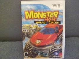 GAME DISC Monster 4x4: World Circuit Wii - $10.00