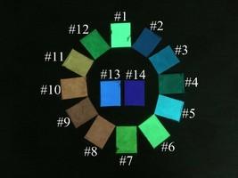 10g Luminous Powder Fluorescent Glow In The Dark Phosphor Pigment DIY Co... - $3.63