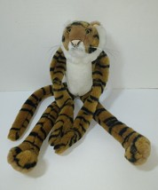 "Wild Republic Tiger Plush 16"" Stuffed Animal Brown Long Limbs Hanging - $12.59"