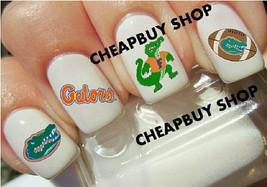 Flash Sale》UNIVERSITY of FLORIDA GATORS LOGO》4 Different Designs》Nail Ar... - $16.99