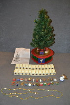 Avon Christmas Is Coming Rotating Advent Calendar Musical Tree [100% COM... - $125.00
