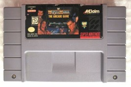 WWF WrestleMania The Arcade Game (Super Nintendo 1995) SNES AUTHENTIC Ga... - $10.00