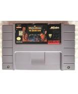 WWF WrestleMania The Arcade Game (Super Nintendo 1995) SNES AUTHENTIC Ga... - $10.00