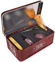 Beard Care Kit for Men- Sandalwood- Ultimate Beard Grooming Kit includes 100% Bo image 5