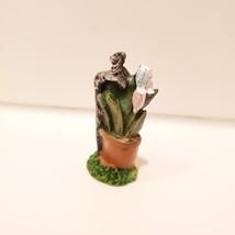 "Fairy Figurines, set of 3, Fairy Sign Garden Decor, Fairies Craft, Plastic 1.5"" image 4"