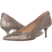 Michael Kors 4689 Classic Heels, Silver, 7.5 US / 38 EU - $37.43