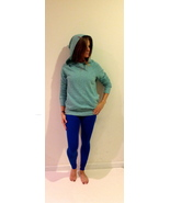 Hard Tail Fitted Pull Over Hoodie small blue - $69.99