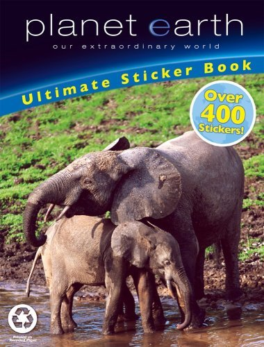 Planet Earth: Ultimate Sticker Book, Over 400 Stickers Modern Publishing and Pla