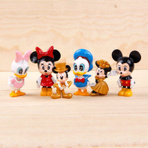 disney Mickey minnie party anime figure figures Set of 6pcs doll Toy Y35... - $24.60