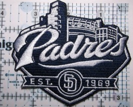 """San Diego Padres Embroidered PATCH~3 5/8"""" x 3 1/4""""~Iron Sew On~MLB~Ships FREE - $4.45"""